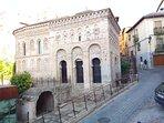 Mezquita del Cristo de la Luz y Calzada romana