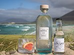 The world famous Isle of Harris Gin, with the distillery walking distance from the Cottage.