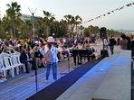 Music on Limassol prom