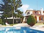 3 bedroom Villa in Bigues i Riells, Catalonia, Spain : ref 5538593