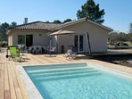 3 bedroom Villa in Hourtin, Nouvelle-Aquitaine, France : ref 5649940