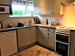 Recently fitted kitchen, well equipped and spotlessly clean