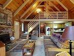 NEW LISTING! Beautiful cabin w/ deck & wrap-around deck, near hiking & skiing