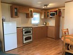 Fully Equipped Kitchen with Large Fridge Freezer