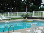 Private community pool for Edgewater guests only.