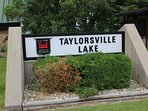 Taylorsville Lake is great for boating, fishing, water skiing, and admiring!
