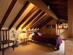 single bed in mezzanine