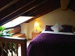 double upstairs in mezzanine