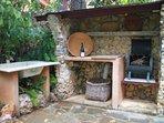 Private backyard barbecue.