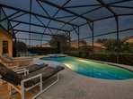An evening at this pool deck to get you recharged