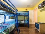 Bedroom #7 with two twin bunk beds
