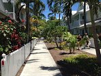 Exclusive gated community in the heart of OId Town Key West