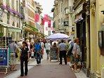 rue piétonne Evian