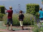 Mini golf d'Evian