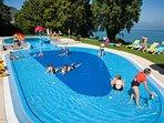 piscine d'Evian coin des petits