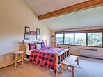 Choose from one of 2 bedrooms, both providing queen-sized beds.