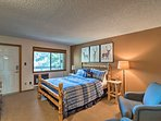 Retreat to the second bedroom for a good night's sleep.
