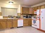Prepare your favorite foods in the spacious fully equipped kitchen!