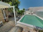 Screenshot 360° Photo,Outside and view heatable pool salt filterd!!