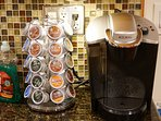 K-Cup Coffee Maker with Coffee/Tea supplied
