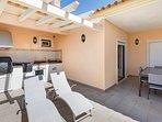 Large terrace for relaxing & al fresco dining