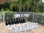 outdoor chess by tiki