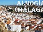 Almogia, local whitewashed village