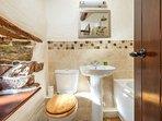 Downstairs luxury bathroom