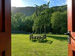 Fabulous views from our riverside paddock and picnic areas