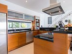 Moderna fully equipped western kitchen