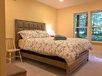 1st bedroom with queen bed