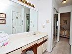 Master Bath 2nd Vanity