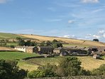 Lane Farm Holiday Cottages from a distance - what a beautiful setting....