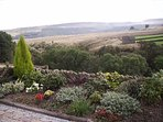 The view from Lane Farm Holiday Cottages Terrace and Garden