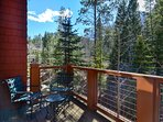 Enjoy the marvelous views from the deck!  Grill included.