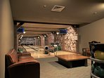 Free private bowling alley (and billiards and theater room) at base of peak 8 with free shuttle bus
