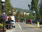 You are a short walk to downtown Breckenridge shops and restaurants!