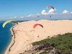 Vol au dessus de la dune