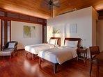 Jivana Beach Villas - Villa Ananda - Twin bedroom