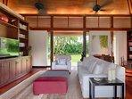 Jivana Beach Villas - Villa Ananda -  TV room