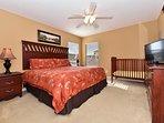 King master bedroom upstairs