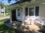 Welcome to Could 9! Front condo unit with private porch at Wychmere Village - 767 Route 28 #9 Harwich Port Cape Cod New...