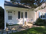 Welcome to Could 9! Front condo entry- 767 Route 28 #9 Harwich Port Cape Cod New England Vacation Rentals