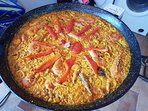 Paella made locally