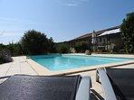 Gite grande capacité avec piscine au coeur de la Dordogne