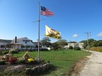 Captain Parkers Pub known for great chowder is just 3 miles away!  West Yarmouth Cape Cod New England Vacation Rentals