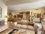 Great room close to the wet bar