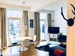 Lovely Copenhagen apartment near Dybboelsbro station