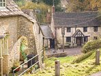 Chedworth is a stunning, traditional Cotswold village, well away from busy roads