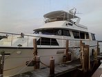 Luxury Boat & Bed 78' Motor Yacht 'Laid Off'